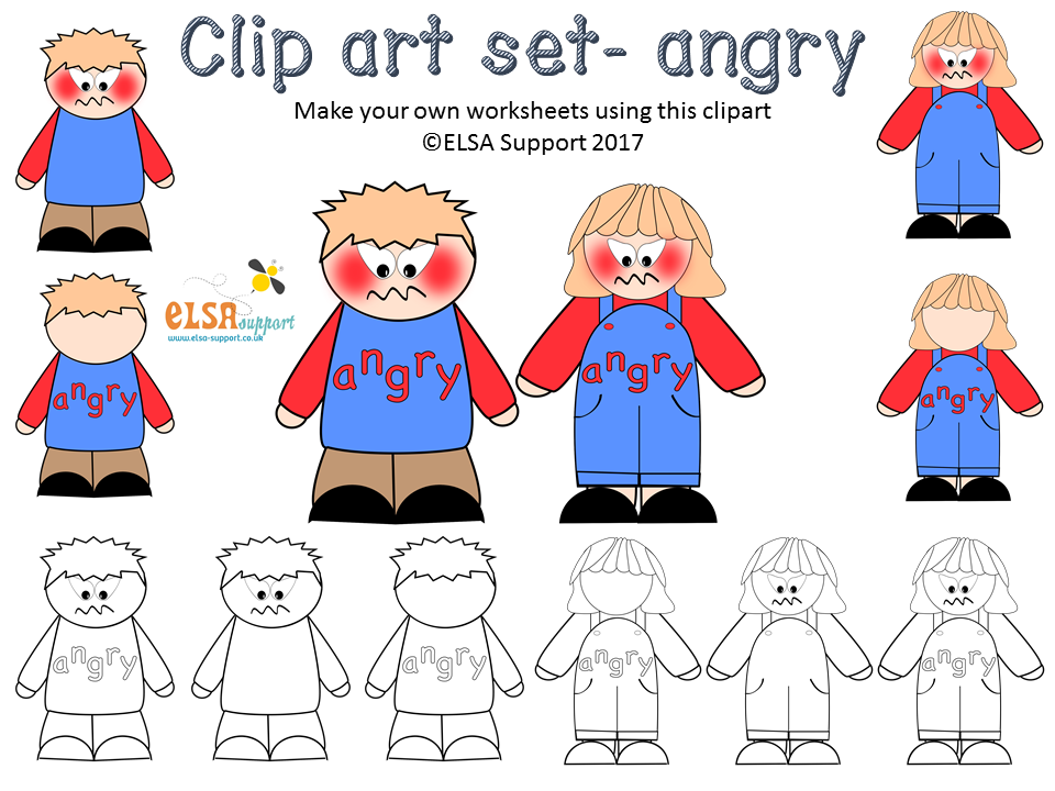 Emotions clipart - ANGER