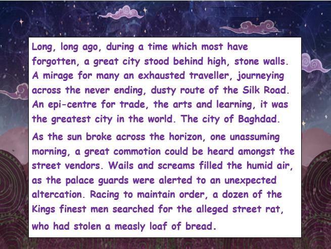 Aladdin Character Description of the Genie