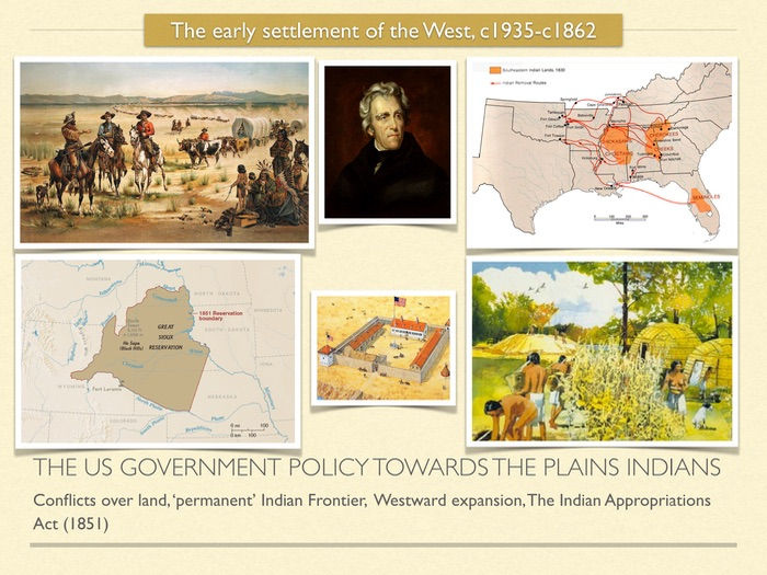 GCSE American West in 19th Cent. The US gov policy towards the Plains Indians