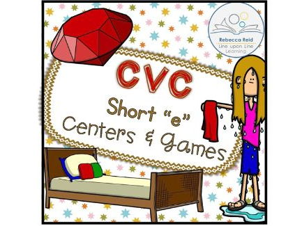 "CVC Short ""e"" Centers and Games"