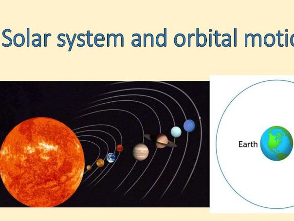 AQA Physics 9-1 - 4.8.1.1. & 4.8.1.3 - Solar System and Stability of Orbital Motion