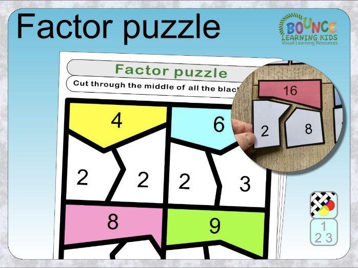 Factor puzzle