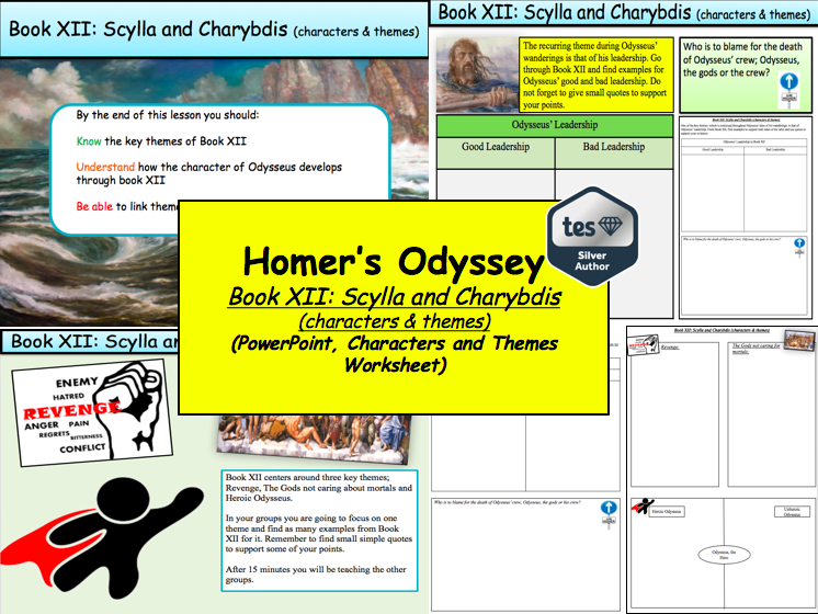 odysseus characters