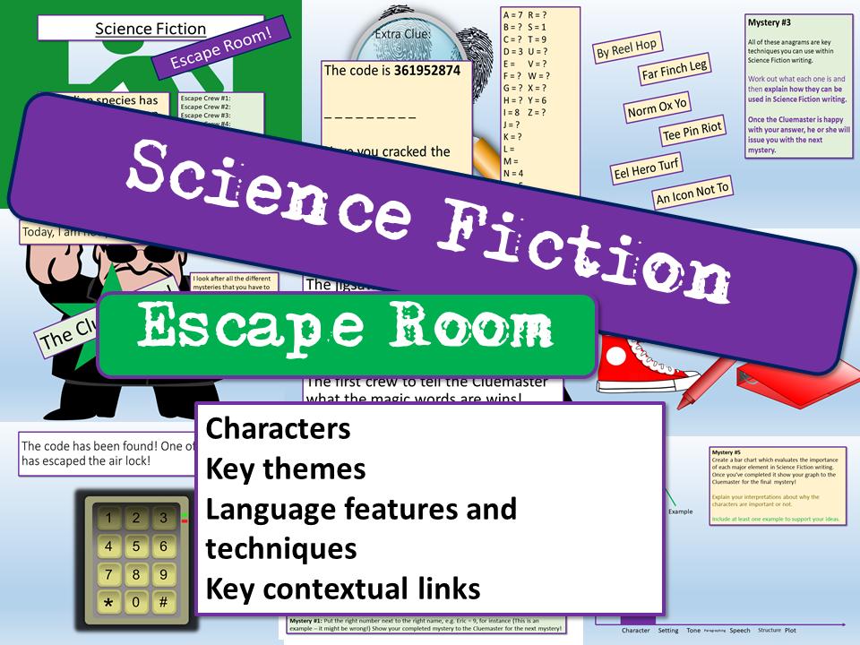 Science Fiction  Escape Room