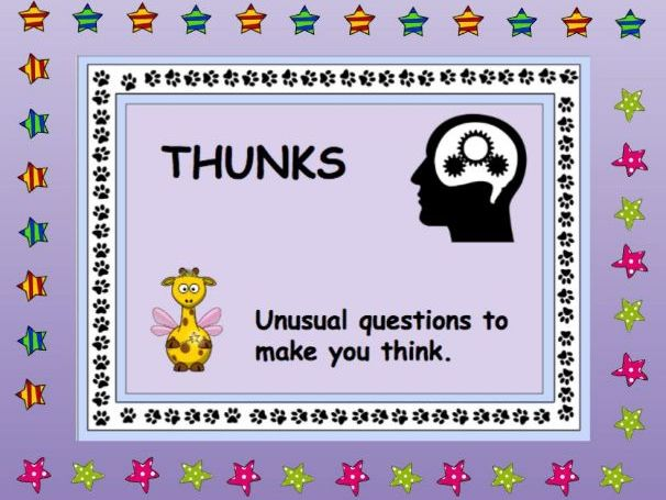 Thunks - Questions that make you think!