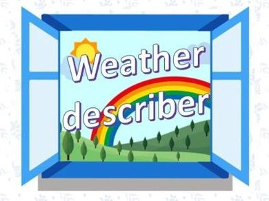Weather Describer - animated ppt