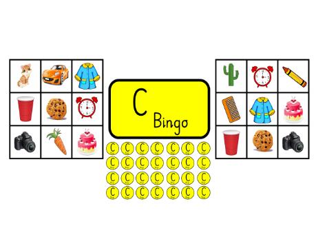 Bingo for the C sound