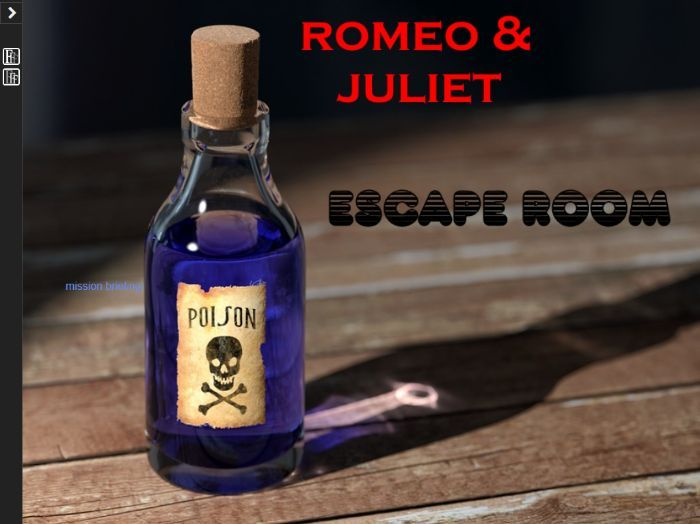 Romeo and Juliet Escape Room (Digital)