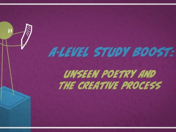 Unseen Poetry and the  Creative Writing Process