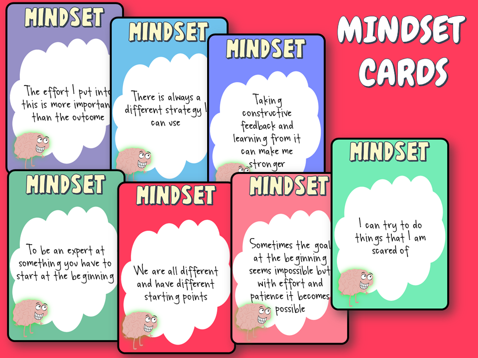 Mindset conversation cards