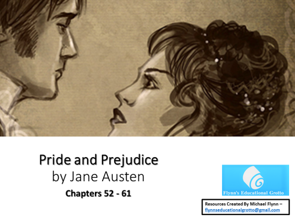 A Level: Pride and Prejudice - A bundle of 3 lessons chapters 52-61