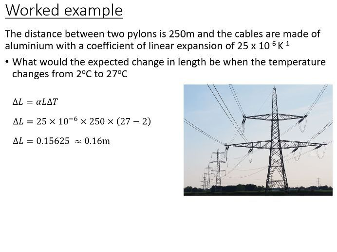 BTec Engineering - Thermal Expansion (PowerPoint)