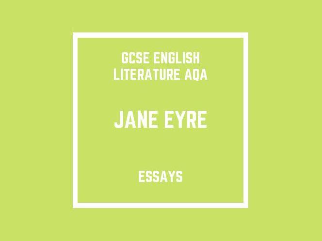GCSE English Literature AQA: Jane Eyre (essays)