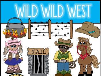 Wild Wild West Clip Art