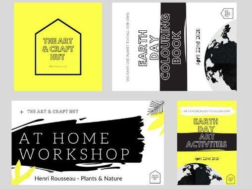 Earth Day 2020 | April 22nd 2020 | Remote Art Activity Book, Colouring Book & Bonus Lesson!