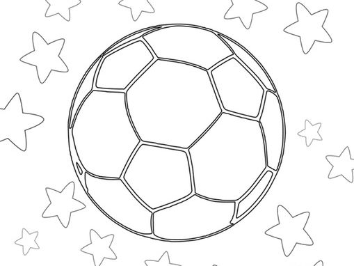 World Cup colouring pages