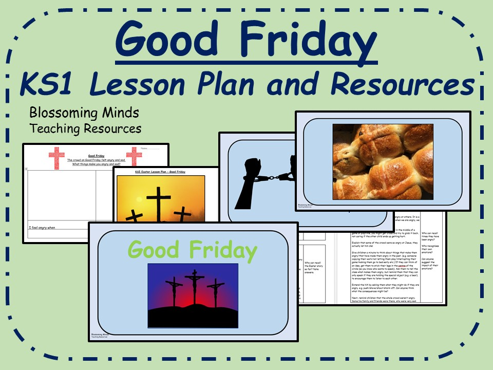 KS1 Easter RE Lesson - Good Friday