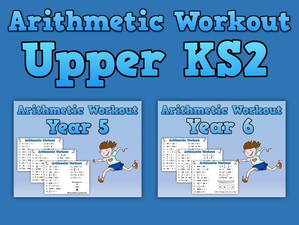 Upper KS2 Arithmetic Workouts