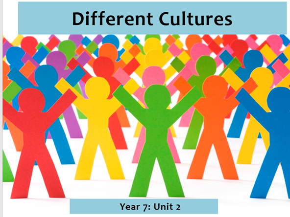 Different Cultures: Year 7 Poetry Scheme of Work