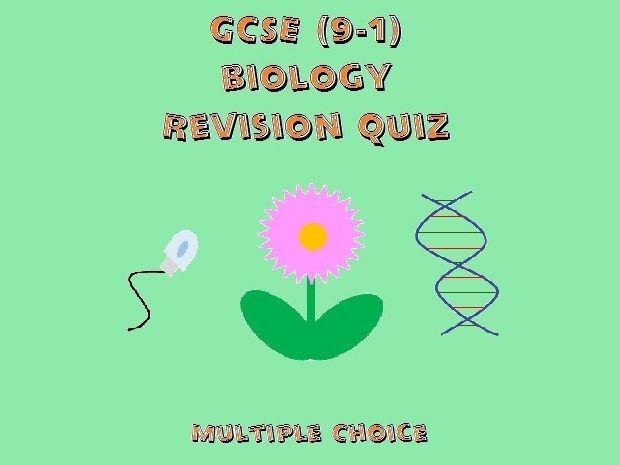 GCSE Biology Revision Quiz