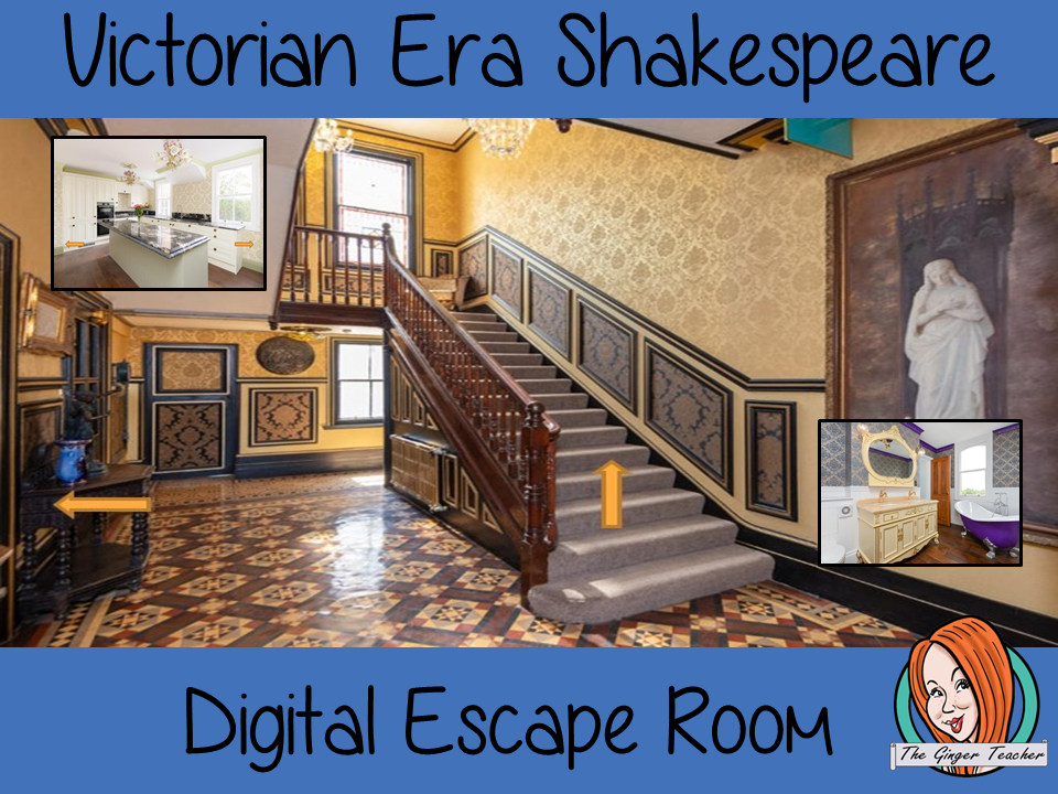 Shakespeare in The Victorian Era Escape Room