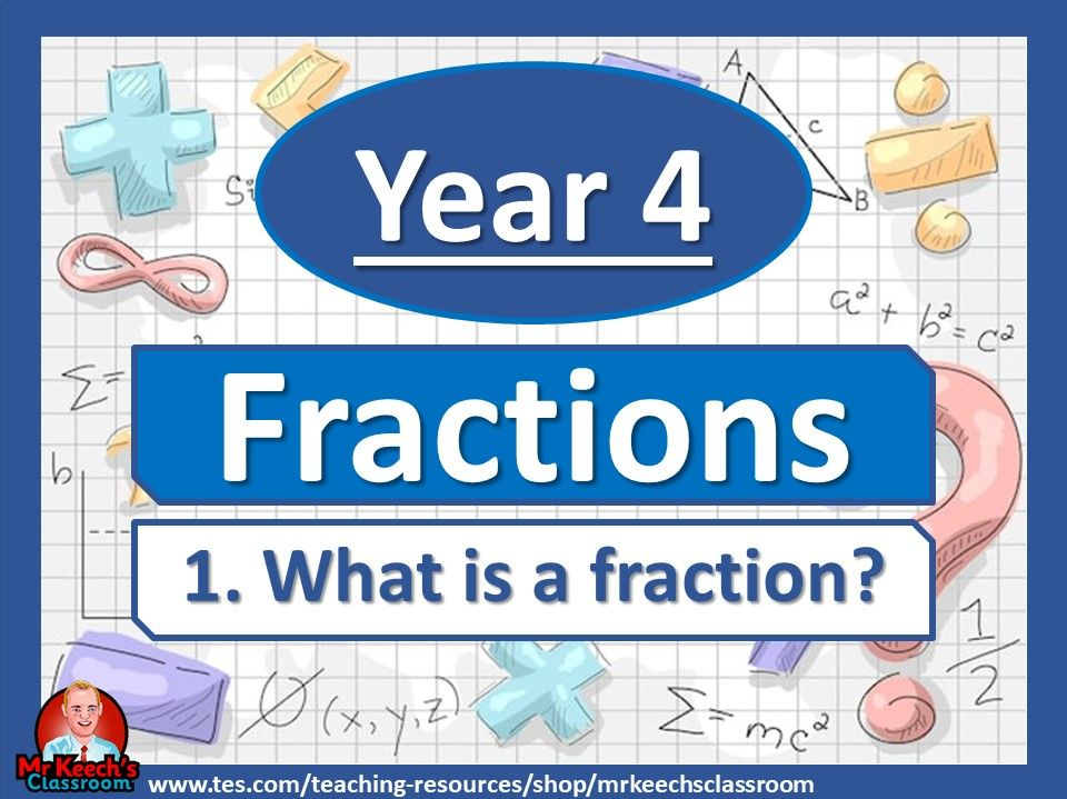 Year 4 – Fractions – What is a fraction? - White Rose Maths
