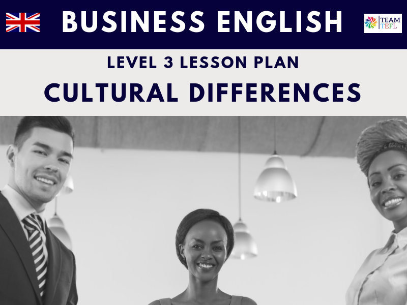 Cultural Differences Business English Level 3 | Distance Learning | Google Apps