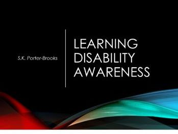 Learning Disability Awareness: Presentation - Health and Social Care
