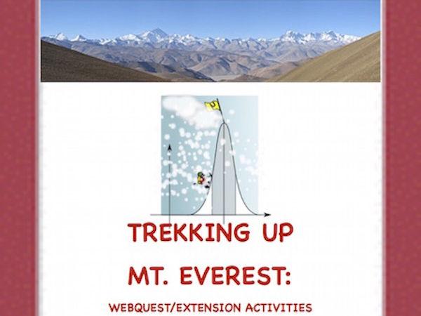 Mt. EVEREST! An Internet Activity!