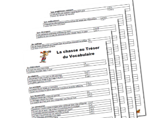 French A-Levels : Revise Key vocabulary with fun activity