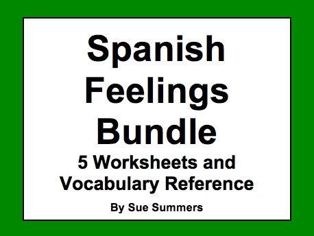 Spanish Feelings Bundle of 6