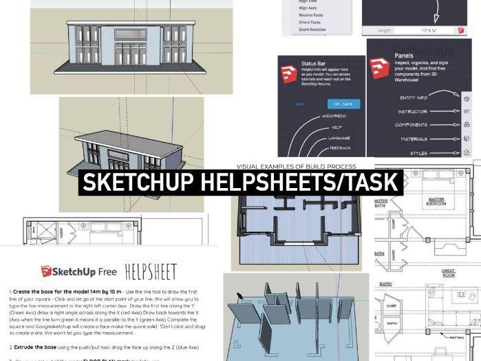 ARCHITECTURE 3D Design | Google SketchUp