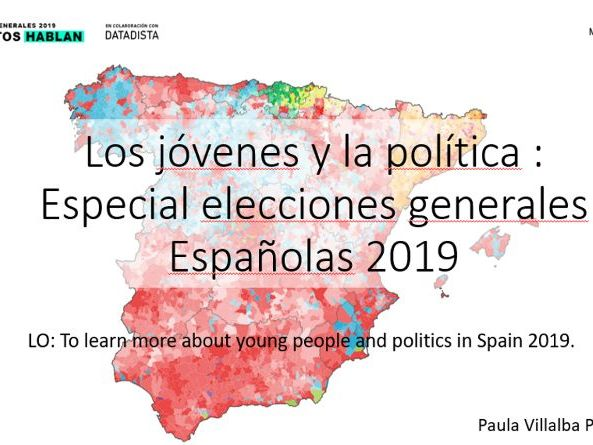 New A Level AQA - Special Spanish General Elections 28A 2019