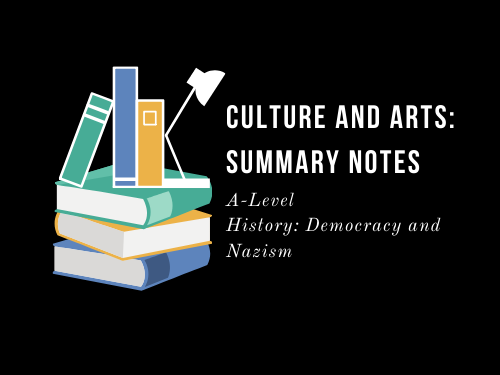 DEMOCRACY AND NAZISM: CULTURE AND ART NOTES (Golden Age 1924-1928)