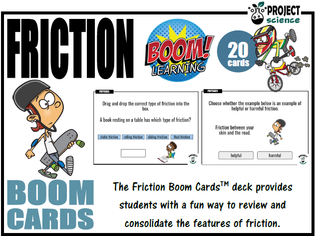 Friction Boom Cards™ - Distance Learning