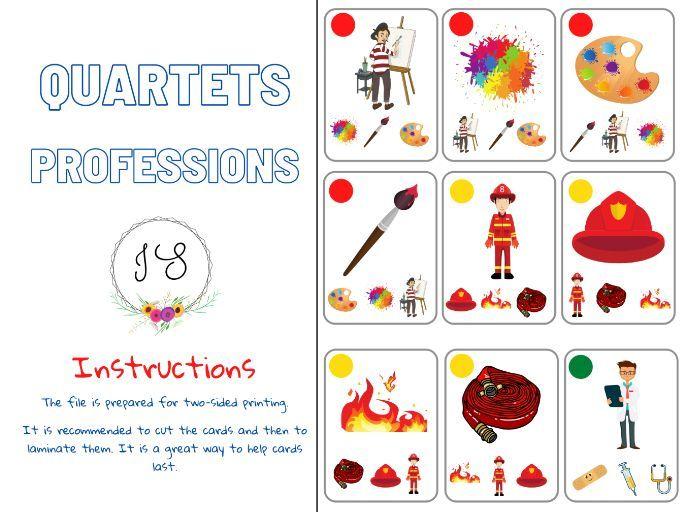 Professions - Quartets (card game)