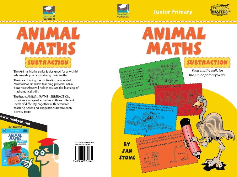 Animal Maths - Subtraction