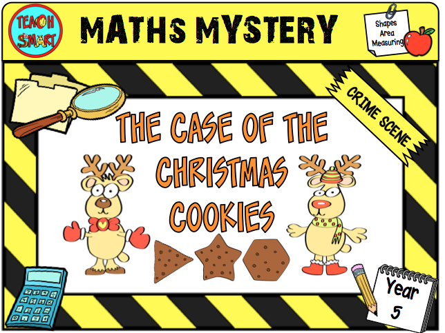 Maths Mystery The Case of the Christmas Cookie Year 5