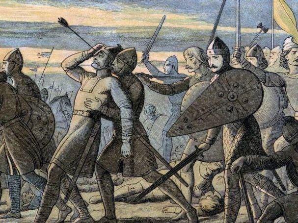 William's problems after the Battle of Hastings