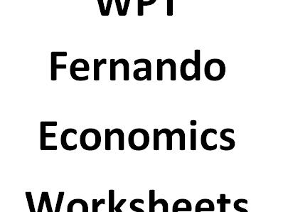 Edexcel Economics Unit 2 test (2.1.1 - 2.1.2)