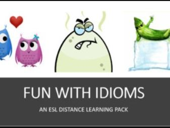 Fun with Idioms. A Distance Learning Bundle
