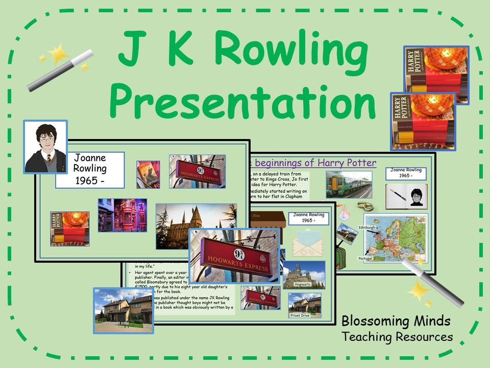 J K Rowling Presentation