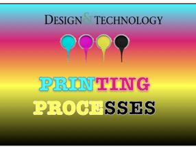 Printing Processes Card Sort