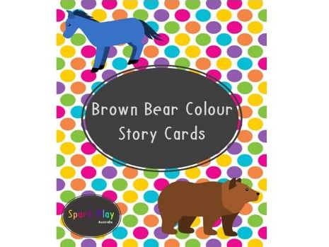 Brown Bear Colour Story Cards
