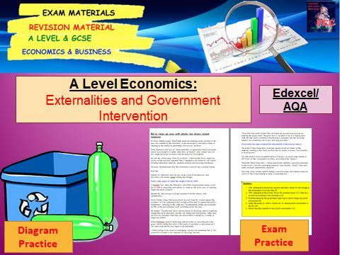 Externalities and Government Intervention: A Level Economics