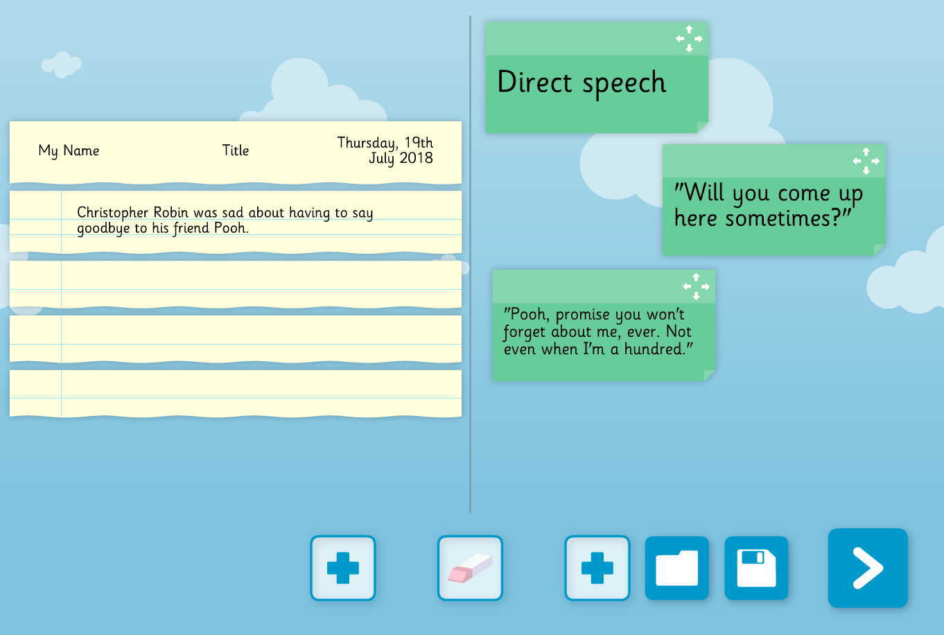 Text Refiner Interactive Tool - KS1/KS2 Literacy