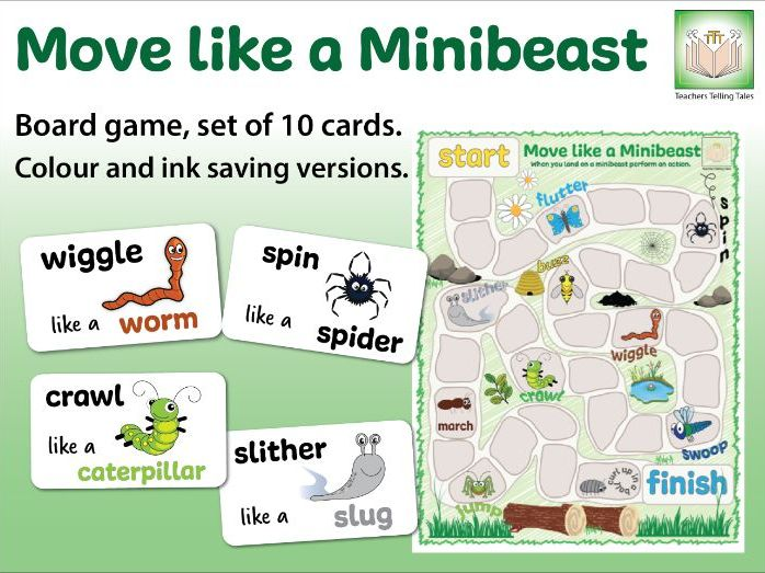 Move Like a Minibeast