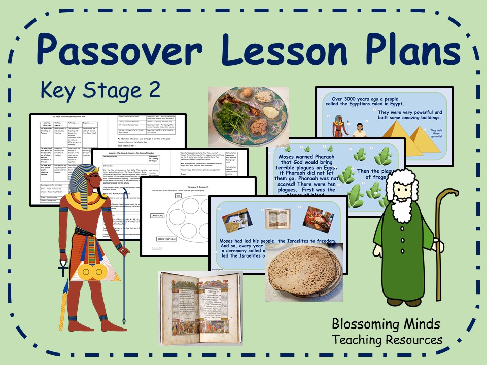 Passover - 3 lesson plans and resources  - KS2