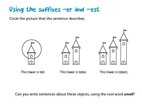 Suffixes: -er and –est (Part 1)