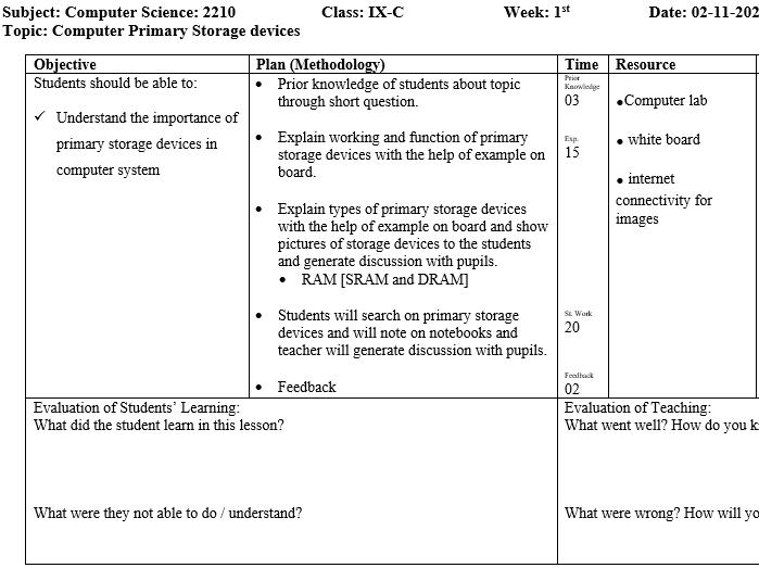 Computer Science, ICT Editable assessment/test/ homework for standard 4th+